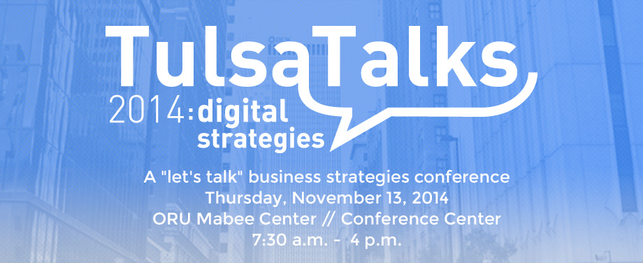TulsaTalks 2014: Digital Strategies