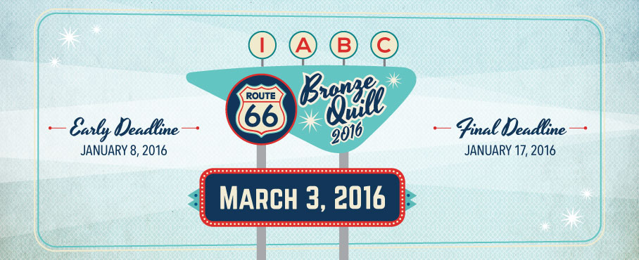 Register Now for IABC Tulsa's 2016 Bronze Quill Awards Reception