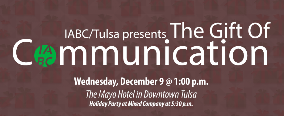 Celebrate Holiday Cheer with IABC/Tulsa