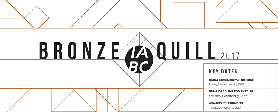 Bronze Quill 2017 – Call for Entries