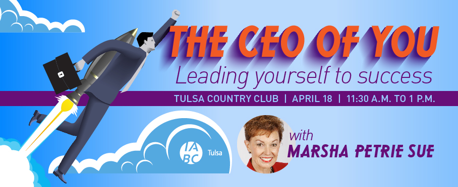 April Luncheon – The CEO of YOU: Leading Yourself to Success
