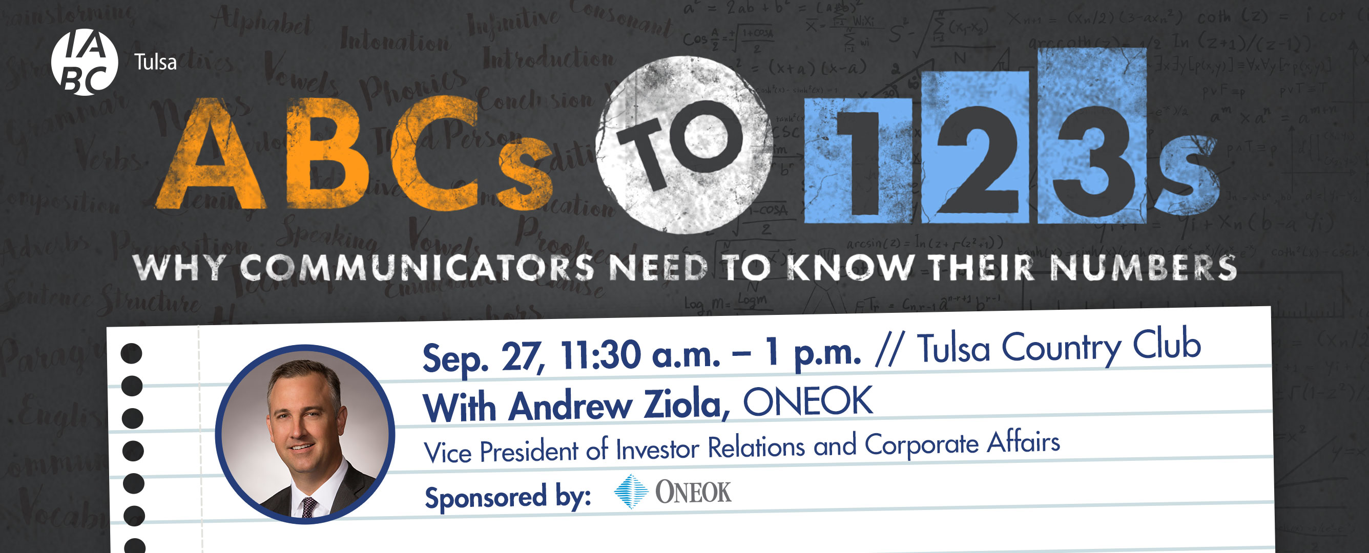 ABCs to 123s: Why Communicators Need to Know Their Numbers