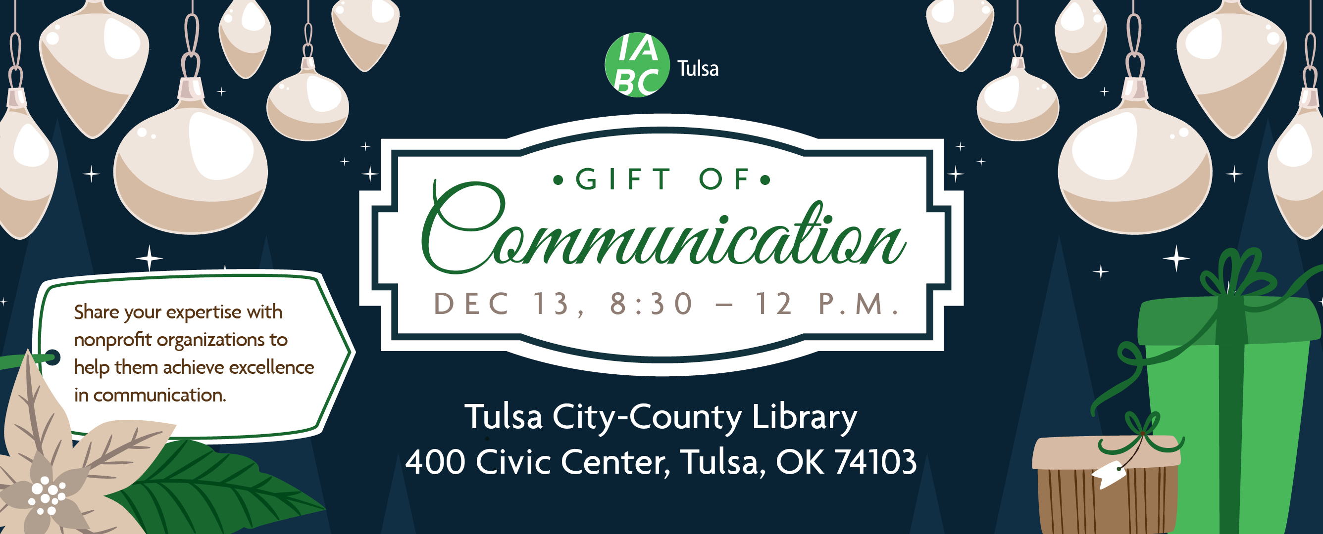 Save the Date: Gift of Communications