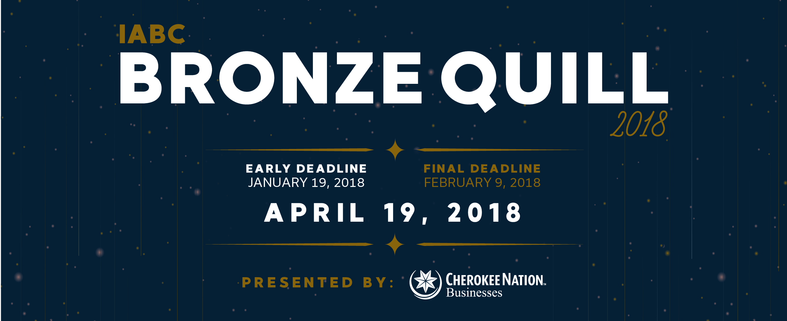 Join IABC/Tulsa for the 2018 Bronze Quill