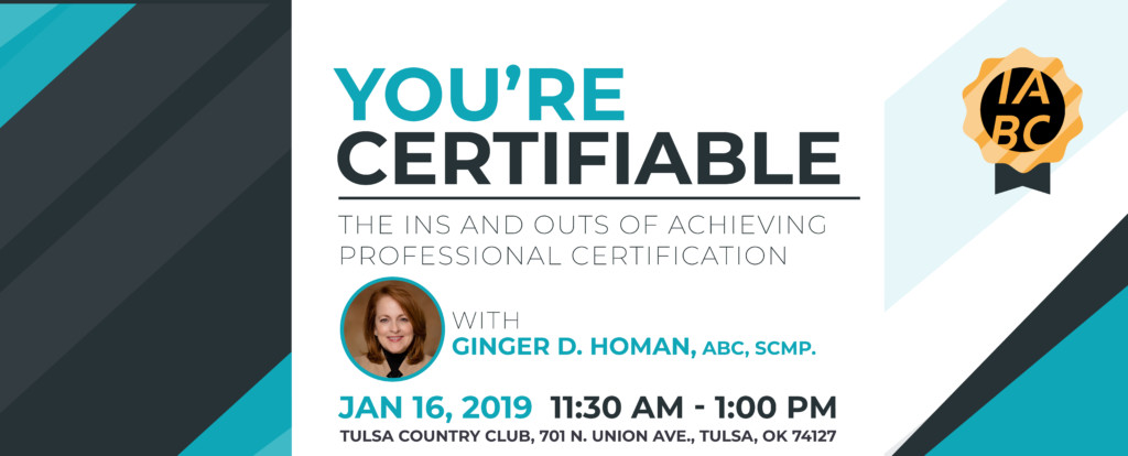 You're Certifiable - the ins and outs of achieving professional certification