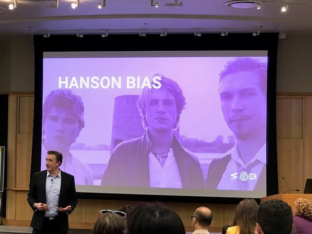Hanson Bias slide from the Communicators Summit