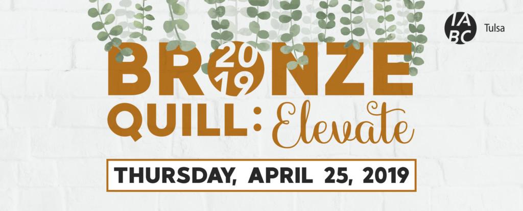 Bronze Quill 2019: Elevate