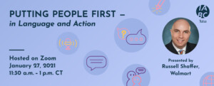 Putting People First - in Language and Action with Russell Shaffer